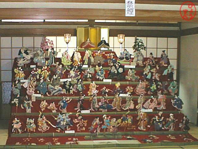 人形の写真